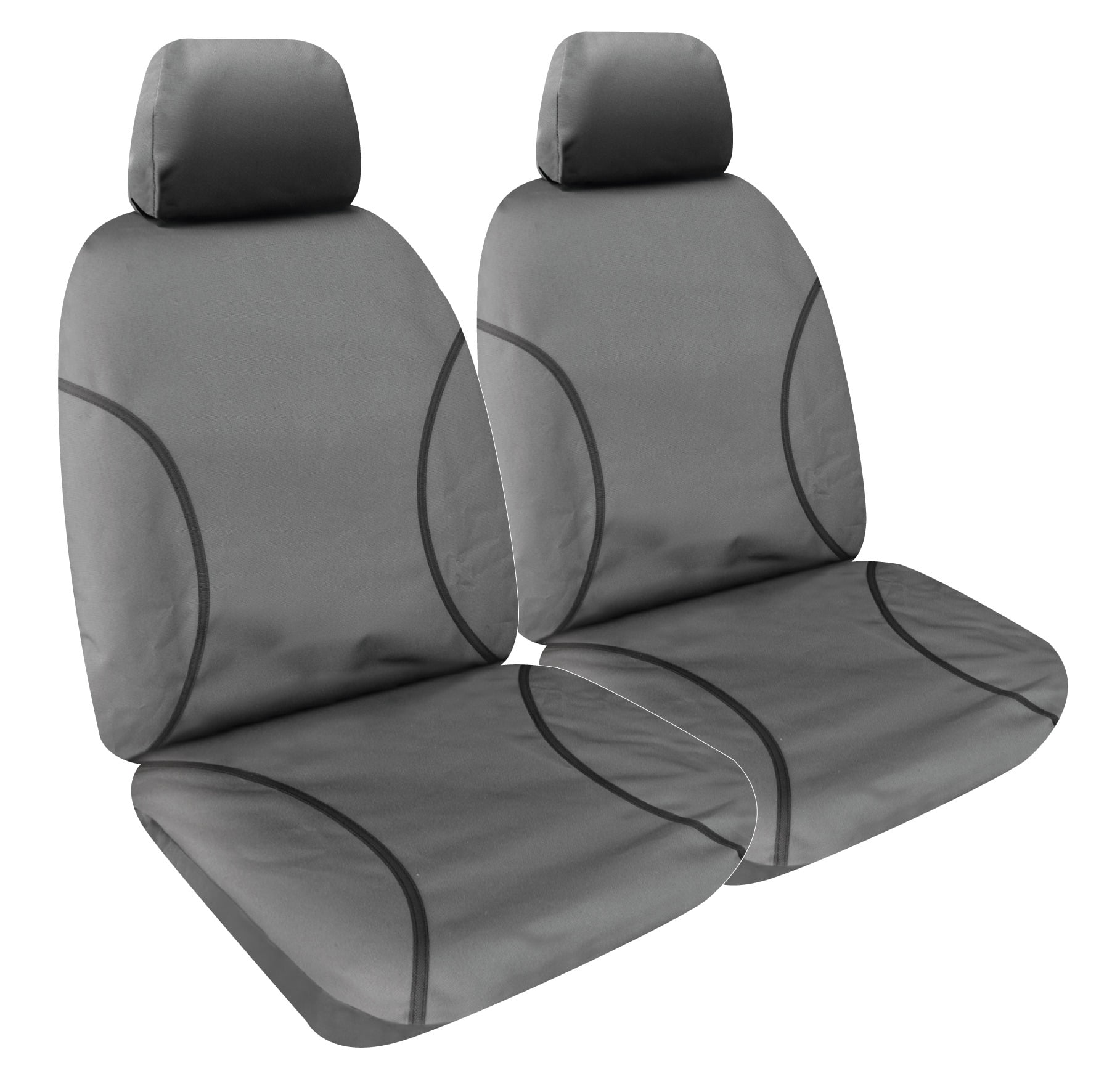 NISSAN NAVARA D23 NP300 16/> BLACK WATERPROOF TAILORED FIT REAR BENCH SEAT COVER