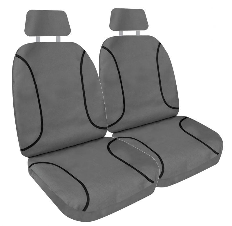 Tuff Canvas Seat Cover Gry 30
