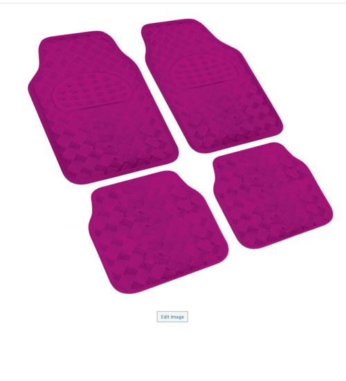 XDC CHECKERED FLOOR MAT PINK