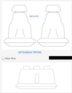 to suit-MITSUBISHI TRITON