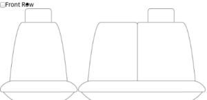 HYUNDAI, ILOAD TAILORED BUCKET & 3/4 SEAT