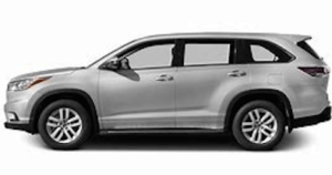 TOYOTA KLUGER 2013 ON