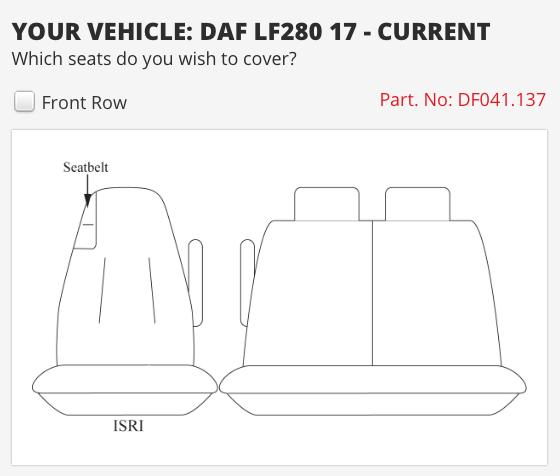 DAF LF280 TRUCK 2017 ON