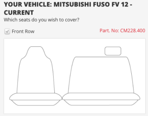 to suit MITSUBISHI FUSO FV HEAVY
