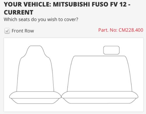 to suit MITSUBISHI FUSO FV HEAVY