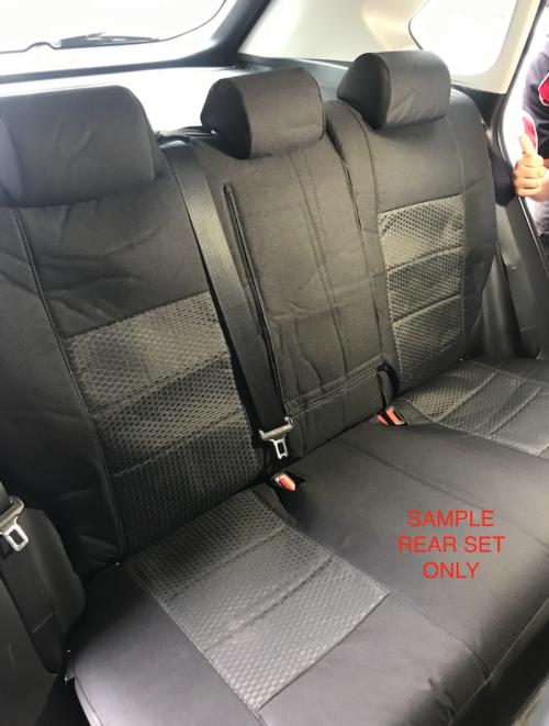 WEEKENDER BLACK REAR SEAT