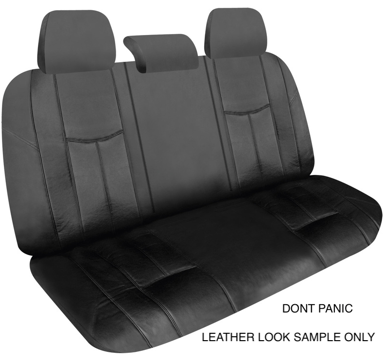 LEATHER LOOK SEAT SAMPLE