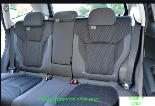 SUBARU FORESTER 13-19 REAR SEAT