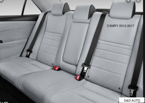 TOYOTA CAMRY 2012-2017 REAR SEAT