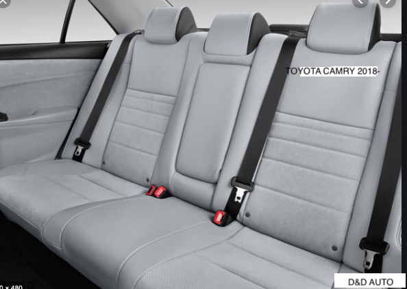 TOYOTA CAMRY 2018 ON REAR SEAT