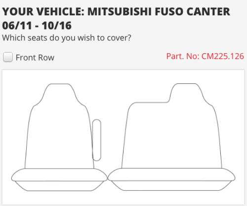to suit-MITSUBISHI CANTER 11-16