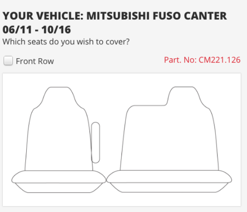 to suit-MITSUBISHI CANTER NARROW CAB 11-16