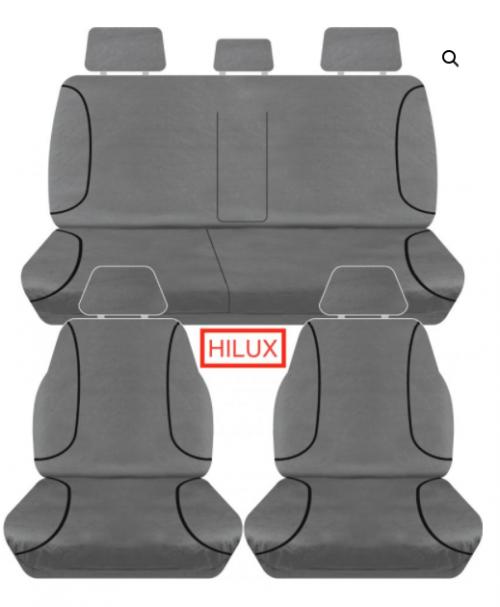 HILUX CANVAS FRONT AND REAR