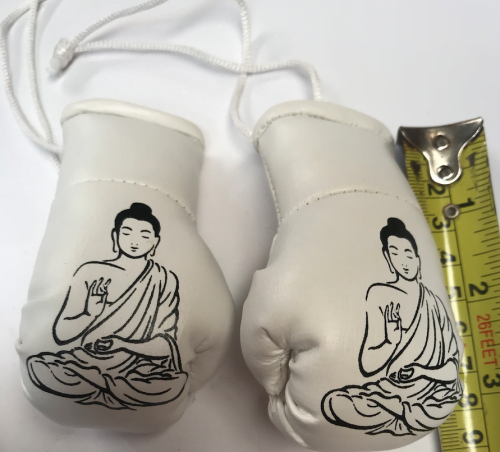 HANGING MIRROR GLOVE BUDDHA