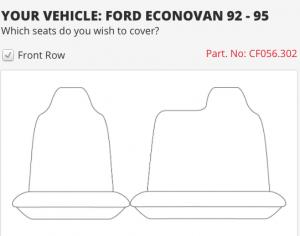 FORD ECONOVAN 92-95