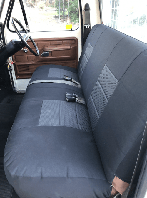 FORD F100 & F150 FRONT BENCH