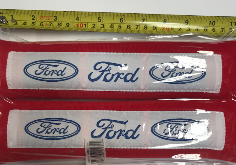 FORD RED SEAT BELT PROTECTOR