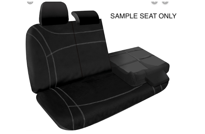NEOPRENE REAR SEAT
