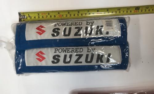 SUZUKI BLUE SEAT BELT PROTECTOR