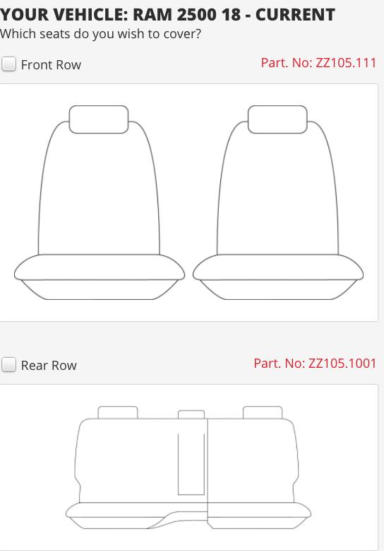 RAM 2500 LARAMIE 5 SEAT DUAL CAB