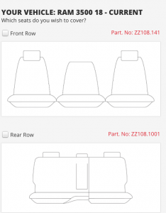 RAM 3500 6 SEAT LARAMIE