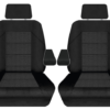 TO SUIT-HONDA CRV ALL BADGES 2005-2012 FRONT SEAT COVER WITH ARMREST