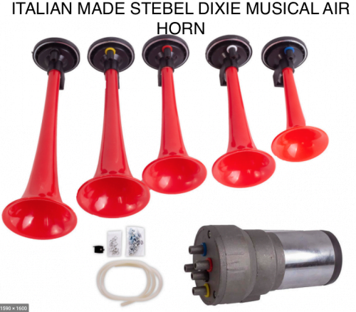MUSICAL AIR HORN DIXIE