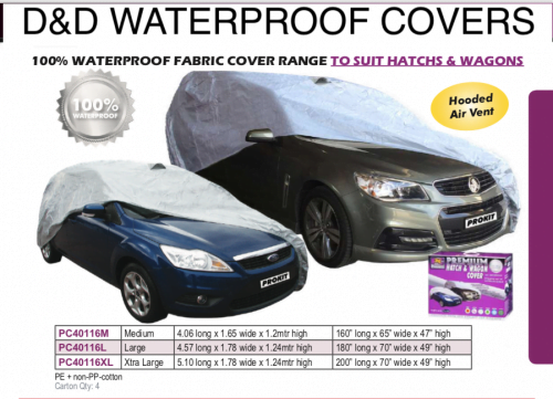 WATERPROOF HATCH & WAGON COVERS