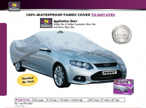 WATERPROOF UTE COVER