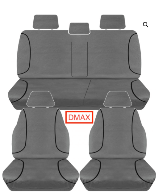 D-MAX 12 ON CANVAS GREY NEW