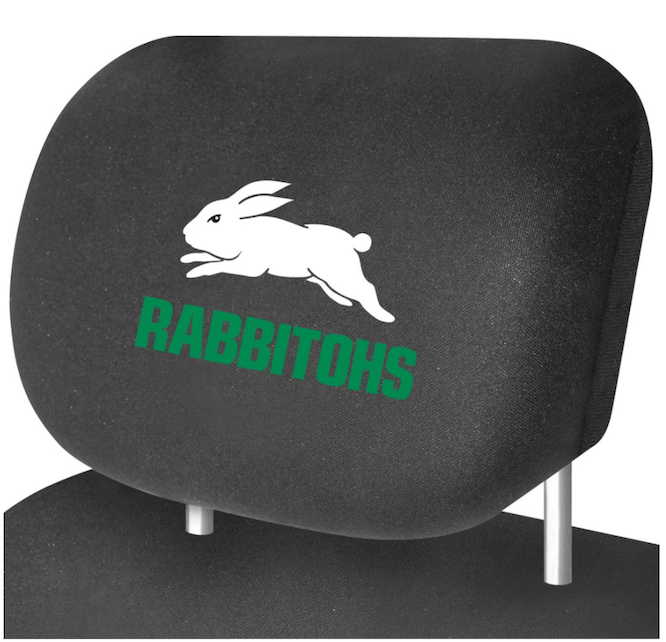 NRL Headrest RABBITS NEW