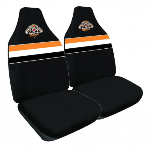 NRL SEAT COVERS WEST TIGERS NEW