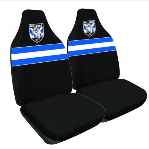 NRL Seat Cover BULLDOGS