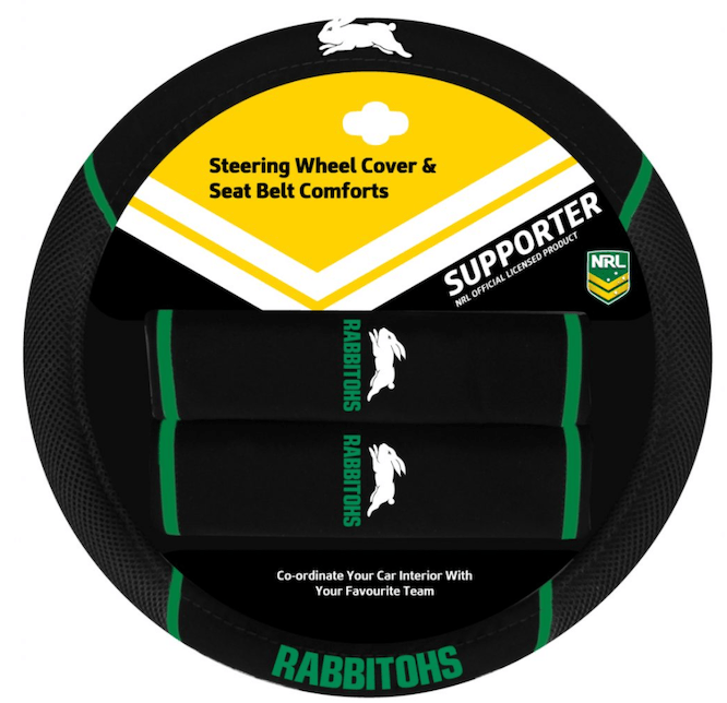 NRL Steering Wheel Cover Rabbits NEW
