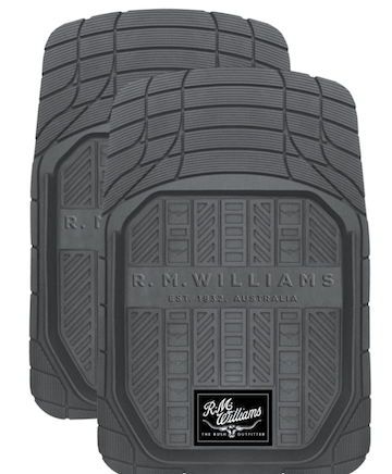 FLOOR MATS RM WILLIAM GREY